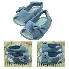 0-18M Infant Baby Girl Princess Summer Sandals Soft Sole Non-slip Crib Shoes HOT