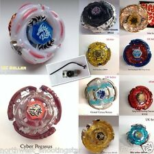 Beyblade Metal Fusion Fury Fight Masters Zero G 4D With Snipe Launcher Free P&P