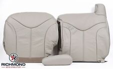 2000 2001 2002 GMC Yukon XL 2500 SLT -Driver Complete Leather Seat Covers Tan