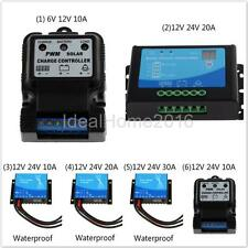 Waterproof Auto Switch PWM Solar Panel Cell Battery Regulator Charger Controller