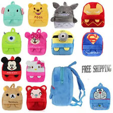 Baby Toddler Kids Child Mini Cartoon Animal Backpack Schoolbag Shoulder Bag &1