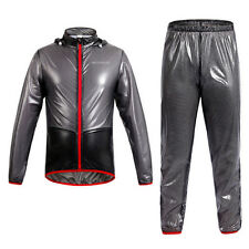 Cycling Bicycle Waterproof Jacket Rain Coat Windproof Outdoor Sport Jersey Suit