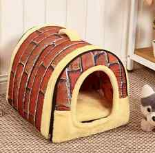 New Large Size Luxury Pet Igloo Dog Cat Soft Comfy House Bed Igloo Warm Pet Bed