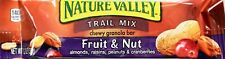 Nature Valley Fruit & Nut Chewy Granola Bars Trail Mix Fiber, 6 12 24 48 Bars