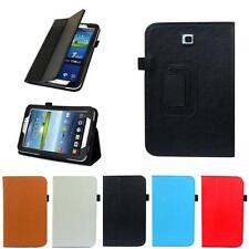 "Folio Leather Case Cover Stand For Samsung Galaxy Tab 3 7.0"" Tablet P3200 P321"