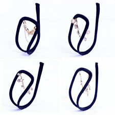 Black Elastic C-string Sexy Thong Invisible Underwear Panty Rhinestone for Women