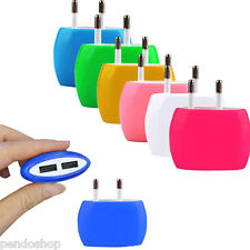 USB Dual Port Home Wall Travel AC Power Charger Adapter for iPhone 6S EU/US Plug