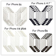 10x Front  Middle Frame Bezel LCD Holder For iPhone 4/6S/ 6S Plus With Hot Glue