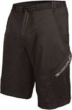 ENDURA HUMMVEE LITE BIKE SHORTS BLACK 2016