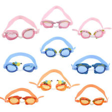 Cute Child Kids Boys Girls Anti-fog Swimming Swim Goggle Glasses Adjustable