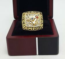1992 Toronto Blue Jays World Series Championship Ring High Quality Back Solid