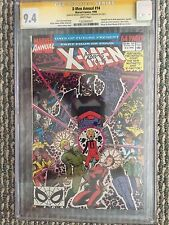 X-Men Annual #14 CGC Sig Series 9.4 Claremont & Adams 1st Gambit Cameo Pre 266