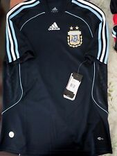 BNWT ADIDAS ARGENTINA 2007-09 Away Football Soccer Shirt Jersey Men's Sizes