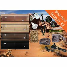 "LotsForPets 36"" 3ft Bearded Dragon Starter Kit Reptile Vivarium"