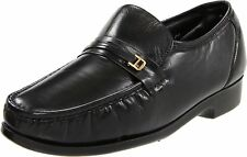 Florsheim Men's Riva slip-on Black leather Shoes 17088-01