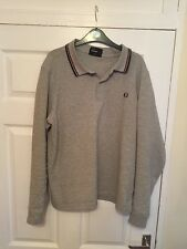 Men's Fred Perry Long Sleeve Polo