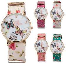 Butterfly Flower Watch Bracelet Watch Women Dress Watches Quartz Wrist Watches