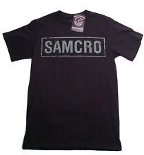 Sons Of Anarchy SAMCRO Black T-Shirt Official Licensed Adult Men Harley