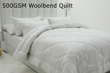 NEW WARM  500GSM Wool Blend Quilt Doona Duvet Single/Double/Queen/King