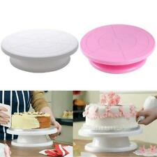Cake Decorating Turntable Rotating Revolving Icing Display Stand Kitchen Tool W