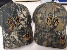NEW WITH TAG DODGE RAM MOSSY OAK CAMO HAT VELCRO STRAP FOR EASY SIZING