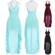 Short Long Evening Formal Party Cocktail Dress Bridesmaid Graduation Prom Gowns