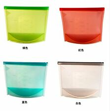 Reusable Food Fresh Bags Silicone Food Storage Cooking Saver Containers