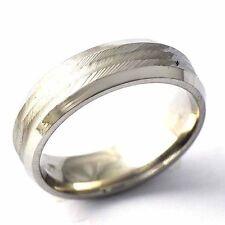 Non-tarnish stainless steel Unisex Band Love Ring Size 8-12 free shipping