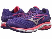 MIZUNO WAVE INSPIRE 12 PURPLE SILVER DIVA PINK WOMENS SHOES **FREE POST AUST