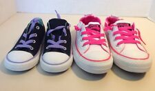 New Converse All Star Canvas Lace-Up Girls Athletic Sneakers Shoes