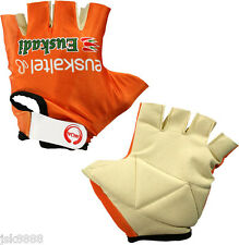 EUSKALTEL TEAM CYCLING GLOVES MADE IN ITALI BY NALINI NEW