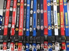 Football Soccer Team Club Lanyard Detachable Keychain iPod Camera Strap Badge ID