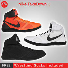 Brand New Nike Takedown 4 Wrestling Shoes With Free Socks