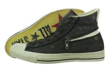 Converse John Varvatos Zip Vintage 142978C Black Canvas Shoes Medium (D, M) Mens