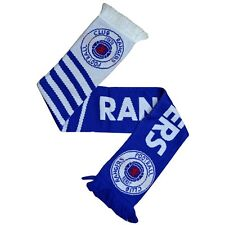 Rangers FC Official Visionary Knitted Football Crest Scarf/Scarves