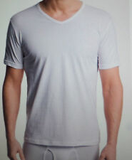 EMPORIO ARMANI Mens COTTON V NECK Short Sleeve T-SHIRT Ret$39 Whte or Blck Sz:S