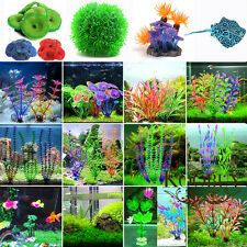 Vivid Artificial Plastic Water Grass Plant Ornament Fish Tank Aquarium Decor