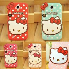 Cute Cartoon Hello Kitty Soft Silicone Cover Case For Samsung Galaxy S/Note/J/A