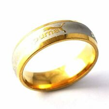 Gold Filled Silver Unisex Band Promise Love Band Ring Size 8 9 10 12 13