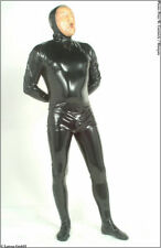 Mens Latex Catsuit - Rubber Suit Cosplay Halloween - Fetish Shiny Clothing Kinky
