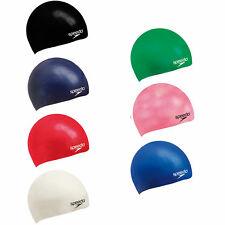 Speedo Cap Silicone Moulded  Swimming Cap JNR Aqua Swimming Pool Caps rrp£10