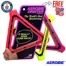 AEROBIE Orbiter Boomerang Ring, Frisbee, Flying Disc, ALL COLOURS!!