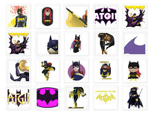 Batgirl Iron on T Shirt heat diy Transfer free postage logo gotham