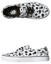 New Vans Boys Kids Authentic Soccer Shoe Lace Canvas Children Boys Shoes White