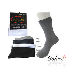 SOX ZONE New 6 Pairs Women's  Cotton Business Socks