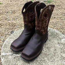 TONY LAMA 3R BRIAR GRIZZLY COMPOSITE TOE WATERPROOF WORK BOOTS RR3303
