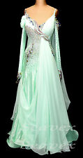 U4358 Formal gown Women Ballroom tango quickstep waltz dance dress Custom made