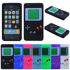 Retro Game Boy Gameboy Silicone Soft Rubber Gel Case Cover For Apple iPhone 4 4S