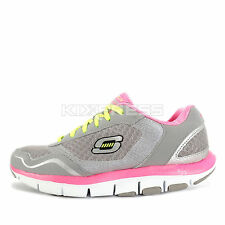 Skechers Liv High Line [57051GYPK] Running Grey/Pink