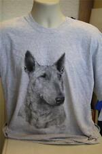 English Bull Terrier by Mike Sibley Design - Gildan T Shirt - Various Colours